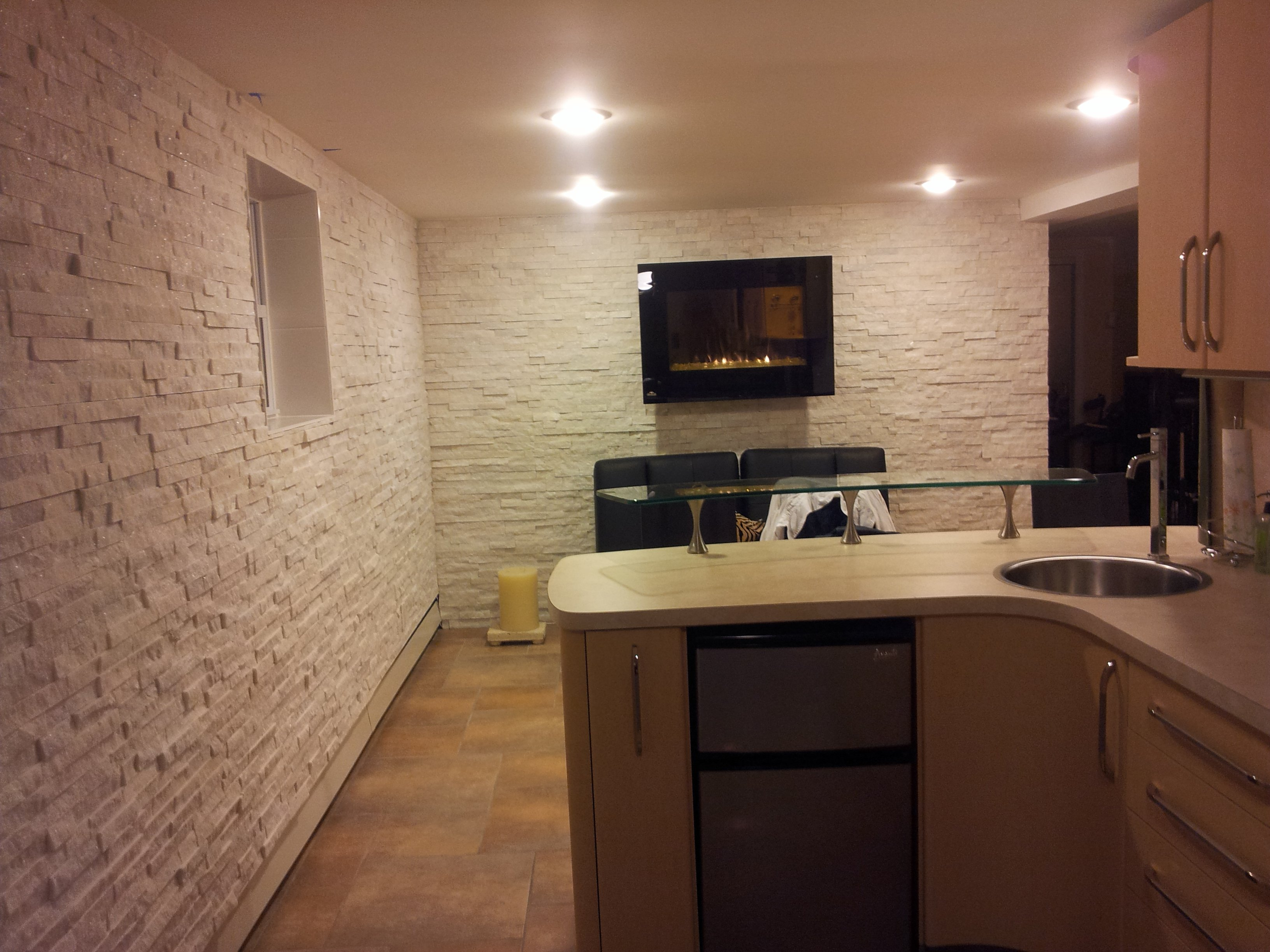 Interior Stone Wall Tile