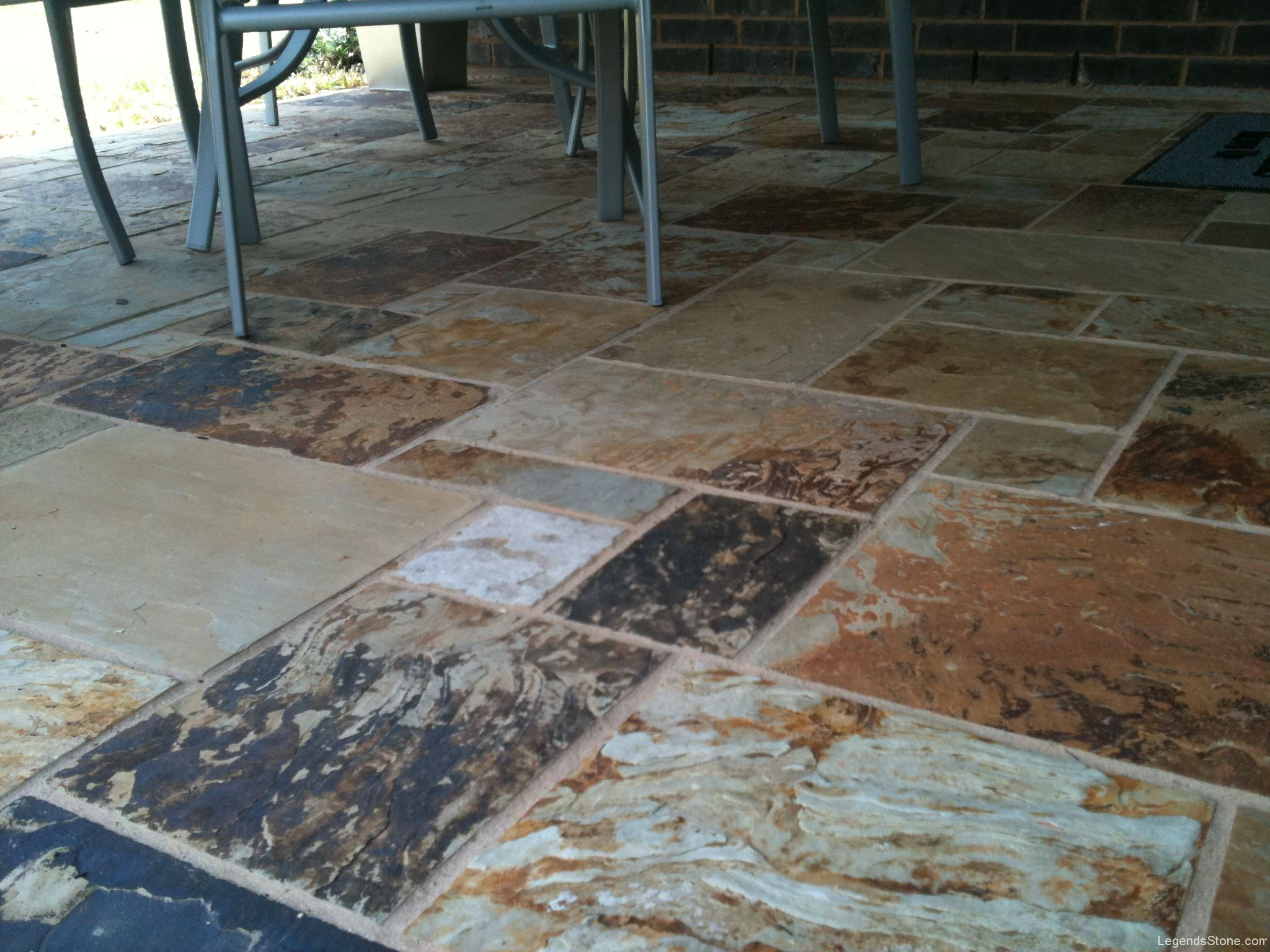 Oklahoma Multi Color Flooring Legends Stone Natural
