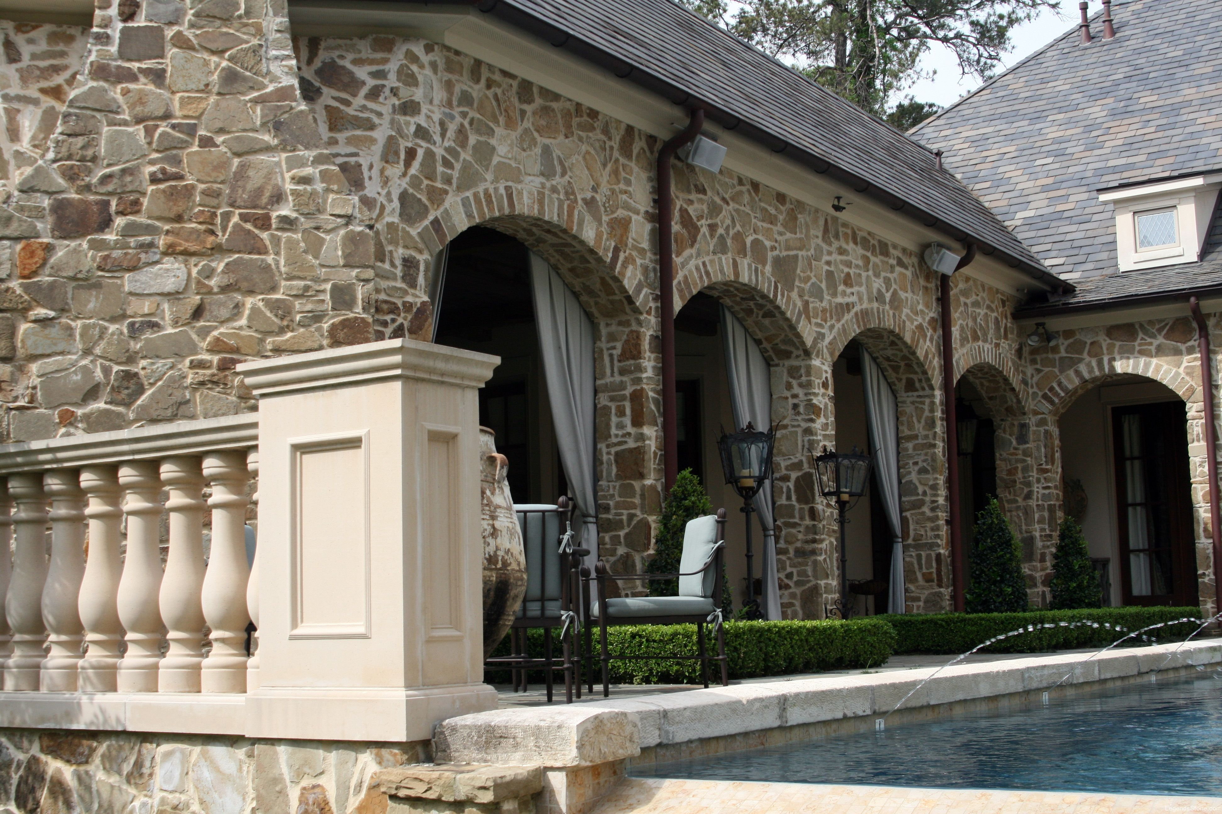 Building With Fieldstone : Oklahoma tumbled fieldstone legends stone natural