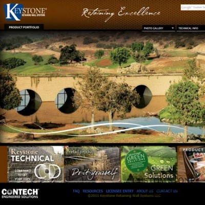 Keystone Retaining Walls  - Click for more info and photos
