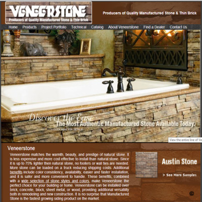 Veneer Stone  - Click for more info and photos