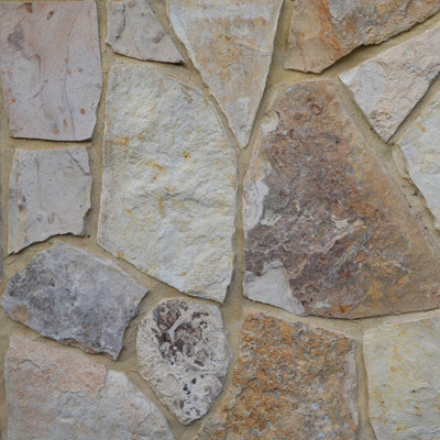 Coral Cream Fieldstone - Click for more info and photos