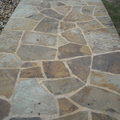 Pecos Tan Flagstone - Click for more info and photos