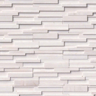 Artic White 3D Ledgestone - Click for more info and photos