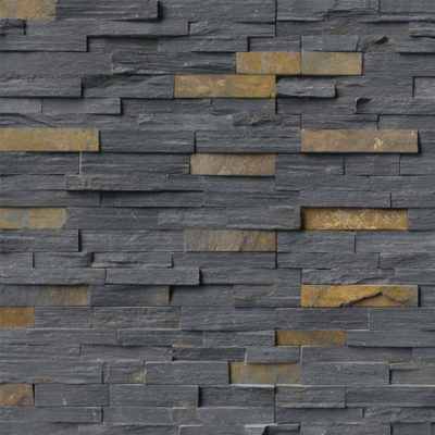 Graphite Ledgestone - Click for more info and photos