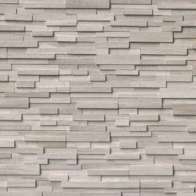 Oxford White 3D Ledgestone - Click for more info and photos