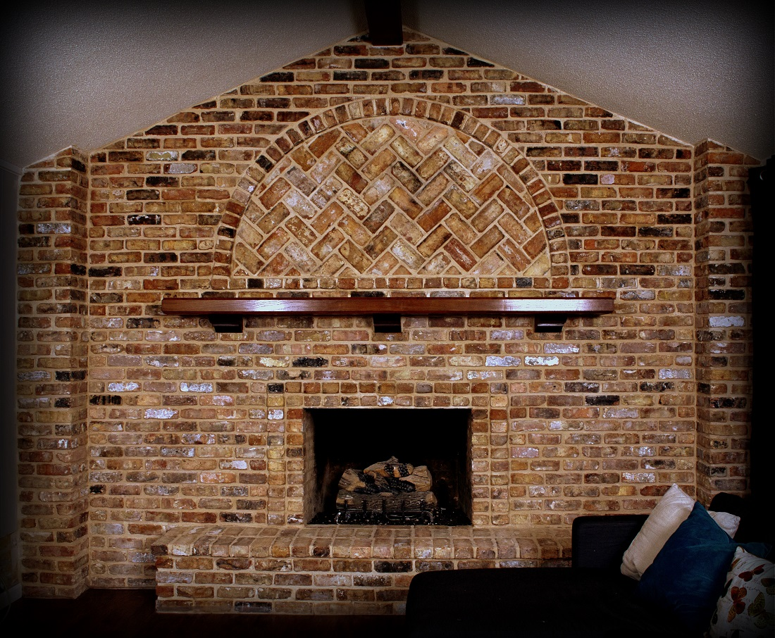 Full Range Reclaimed Chicago Brick Legends Stone