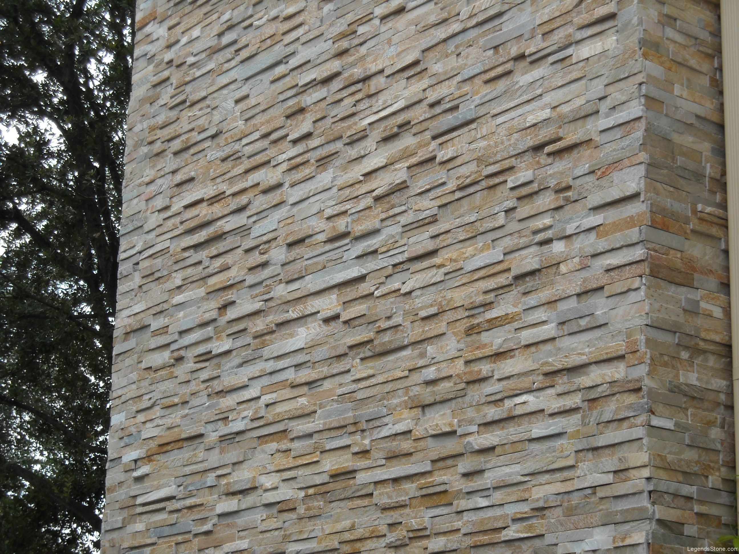 Honey Gold Classic Ledgestone Legends Stone Natural