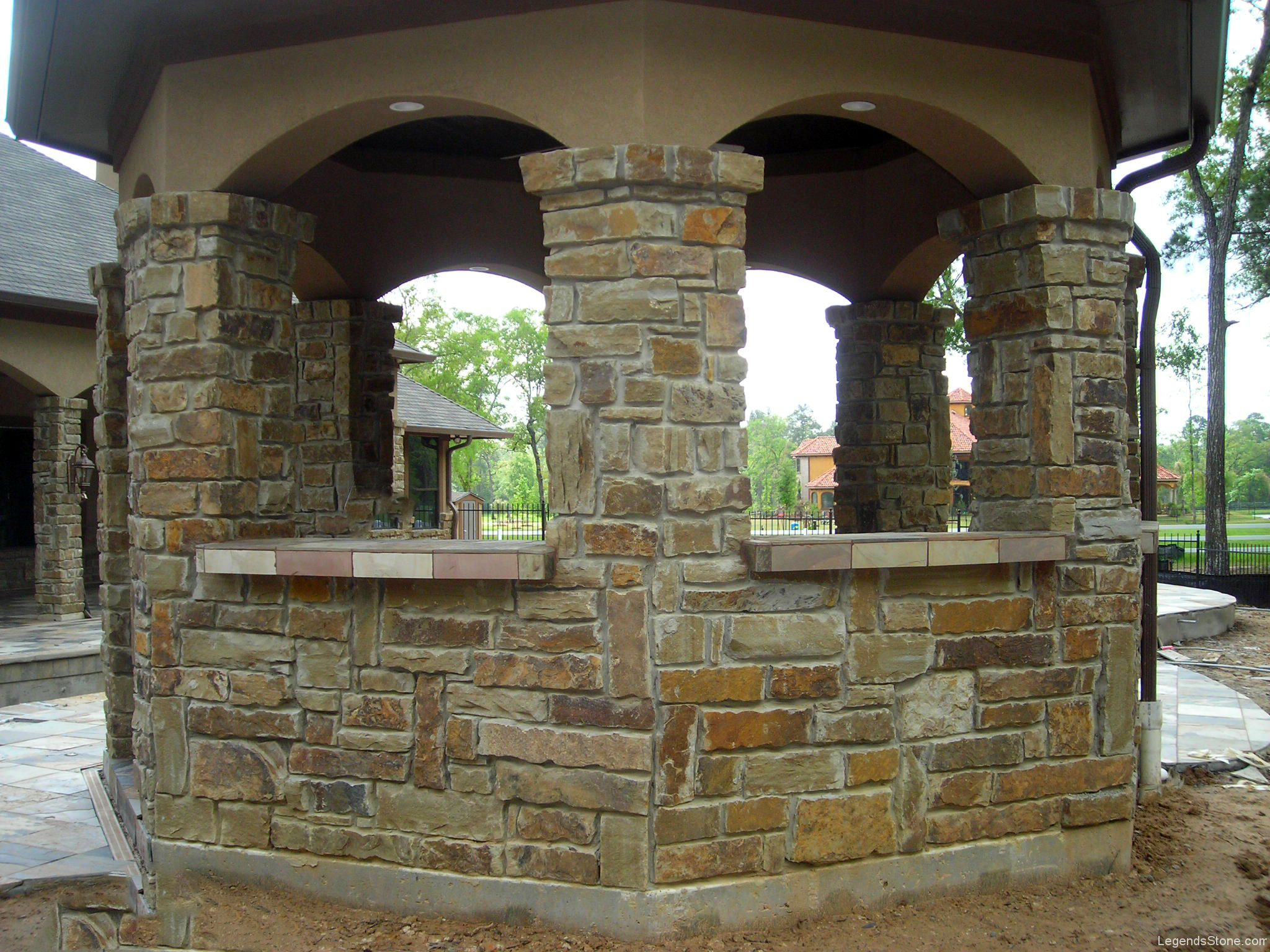 Ozark Brown Chop Legends Stone Natural Stone