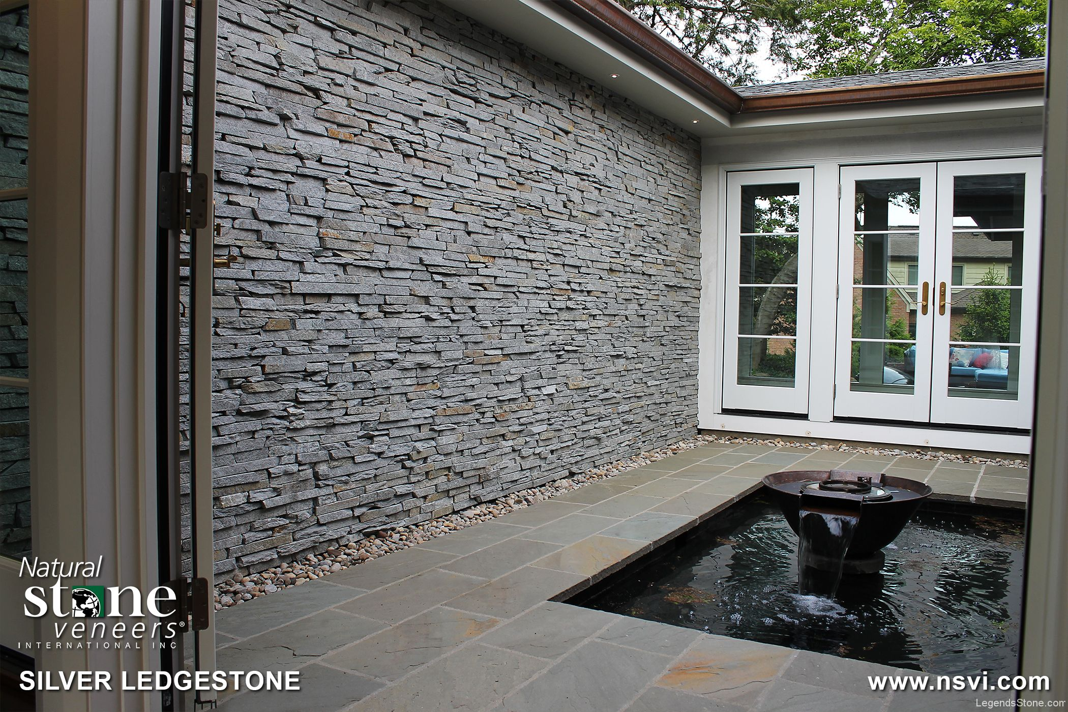 Silver Ledgestone Legends Stone Natural Stone