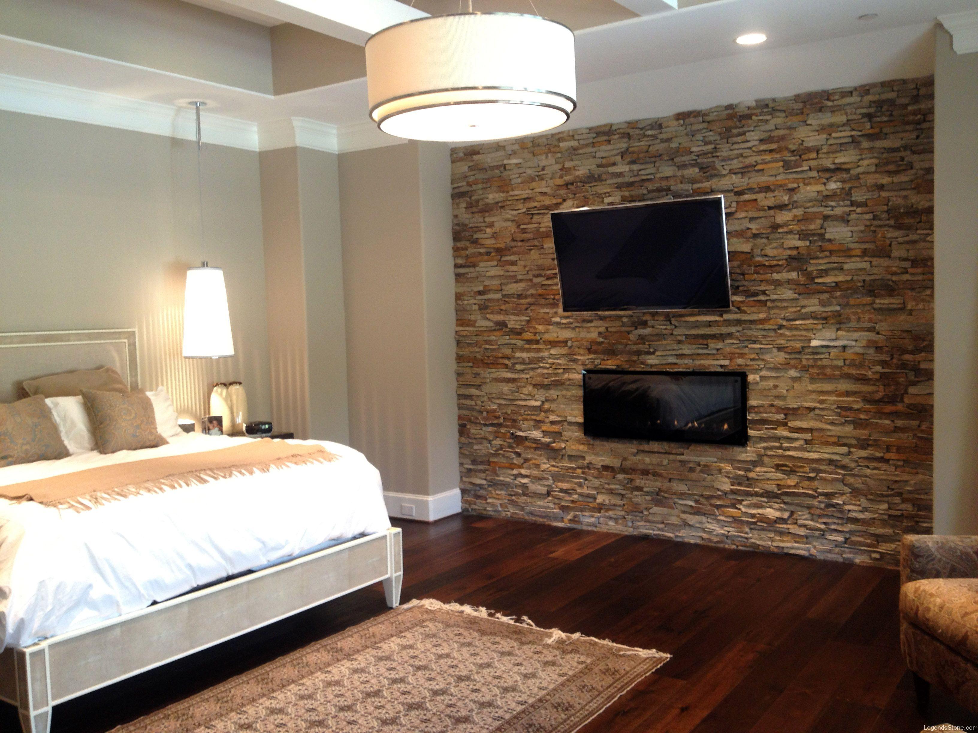 Rock Wall In Bedroom