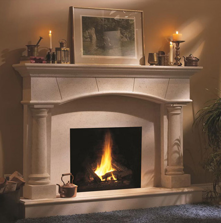Cast Stone Fireplaces | Legends Stone | Natural Stone ...